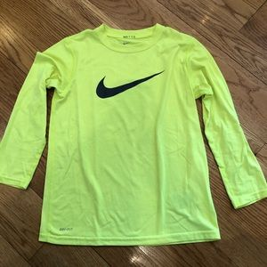 Nike Dri-fit long sleeve shirt
